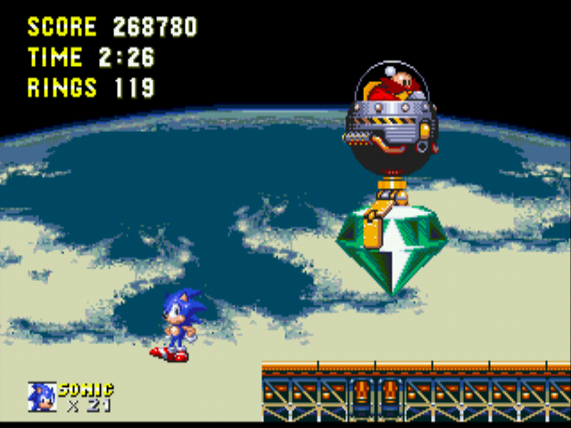 Sonic 3 Complete - Floating like a retard Lmao  - User Screenshot